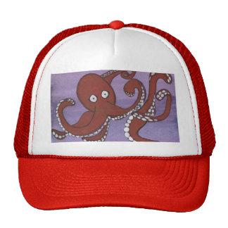 Chapeau de camionneur de poulpe casquettes