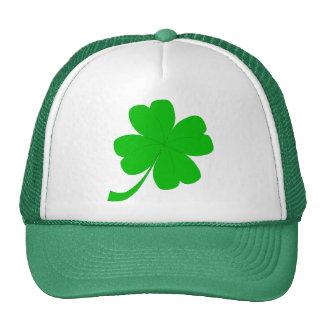chapeau de camionneur de trèfle casquette