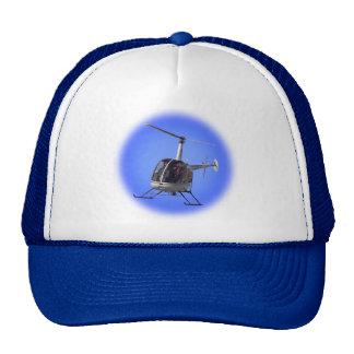 Chapeau de camionneur d'hélicoptère de casquettes