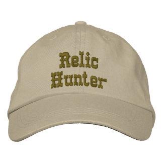 Chapeau de chasseur de relique casquette brodée