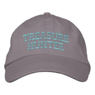 Chapeau de chasseur de trésor casquette brodée