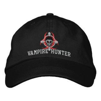Chapeau de chasseur de vampire casquette brodée