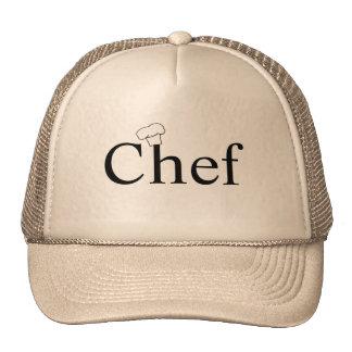 chapeau de chef casquette de camionneur