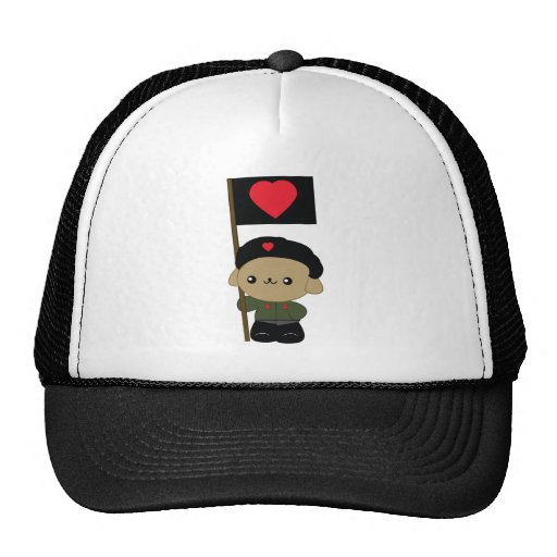 Chapeau de chiot de révolution de caresse casquettes de camionneur