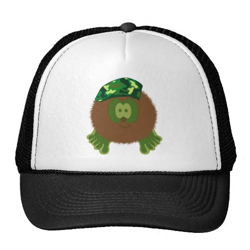 Chapeau de copain de Pom Pom de béret de camouflag Casquette