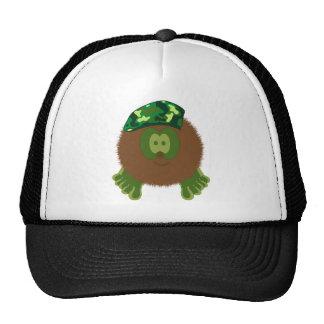 Chapeau de copain de Pom Pom de béret de camouflag Casquettes De Camionneur