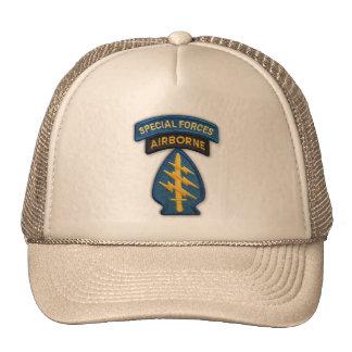 chapeau de correction de vétérans de forces spécia casquette trucker