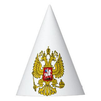 Chapeau de fête écusson Russie
