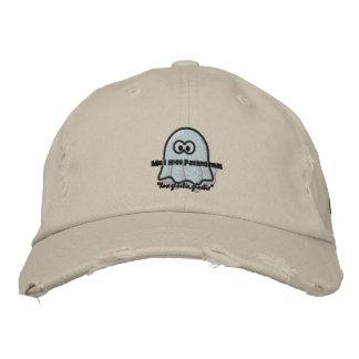 Chapeau de haut de logo de Parnaormal Ghostie de m Casquettes Brodées