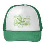 Chapeau de jardinage d'attrape-mouche de Vénus Casquette