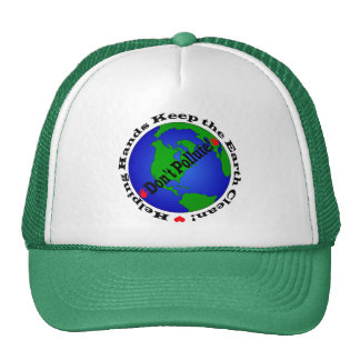 Chapeau de jour de la terre casquettes