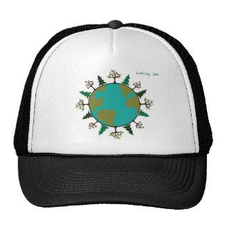 Chapeau de jour de la terre casquette trucker