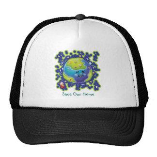 Chapeau de jour de la terre de coccinelle casquette