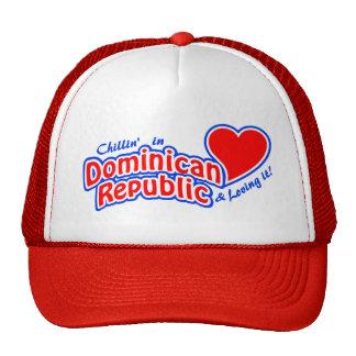 Chapeau de la République Dominicaine - choisissez  Casquettes De Camionneur