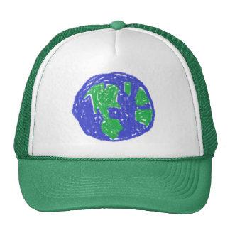 Chapeau de la terre de crayon casquette de camionneur