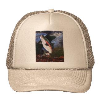 Chapeau de literie de truite casquette de camionneur