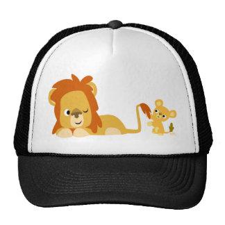 Chapeau de papa et de CUB de lion de bande dessiné Casquette De Camionneur