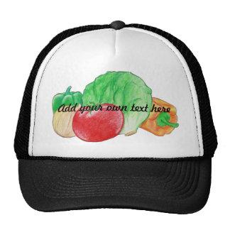 Chapeau de produit frais casquette