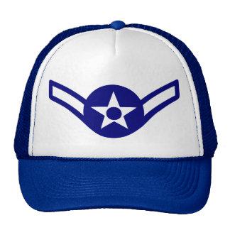 Chapeau de rang d'aviateur de l'Armée de l'Air Casquette De Camionneur