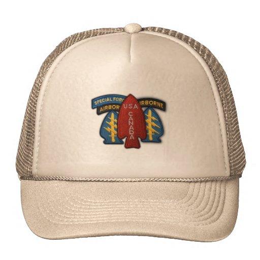 chapeau de vétérinaires de vétérans de bérets vert casquette de camionneur