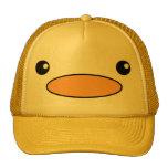 Chapeau de visage de canard casquettes de camionneur