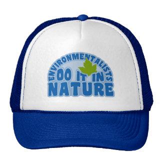 Chapeau d'écologiste - choisissez la couleur casquettes de camionneur
