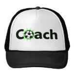 Chapeau d'entraîneur du football casquettes de camionneur