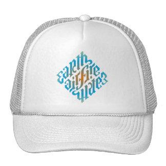 chapeau Diamant-Bleu d'illuminati Casquettes De Camionneur
