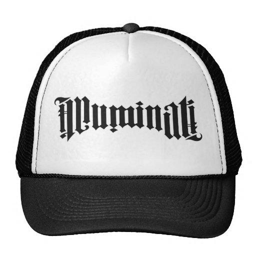 Chapeau d'Illuminati conçu par le DJ Dino Casquettes De Camionneur