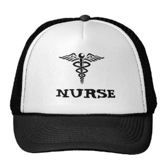Chapeau d'infirmière de caducée casquettes