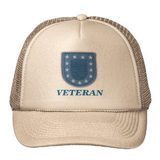 chapeau d'instantané d'unité de béret de vétérinai casquette trucker