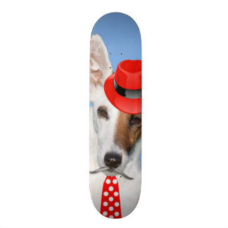 Chapeau funy de cravate de moustache de mode rouge skateboards personnalisés