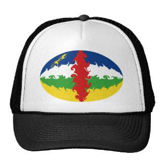 Chapeau Gnarly de drapeau de Centrafrique Casquettes De Camionneur