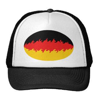 Chapeau Gnarly de drapeau de l'Allemagne Casquettes De Camionneur