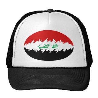 Chapeau Gnarly de drapeau de l'Irak Casquettes