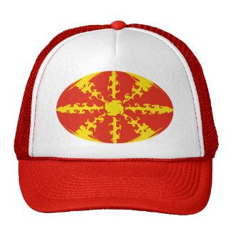 Chapeau Gnarly de drapeau de Macédoine Casquette