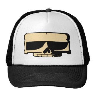 Chapeau jaune de crâne casquette