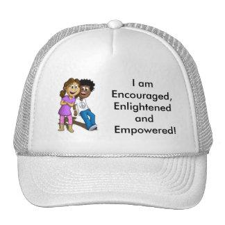 chapeau je suis encouragé, éclairé et autorisé ! casquette de camionneur