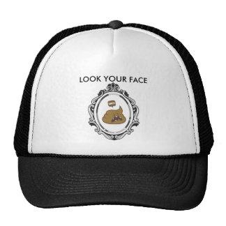 CHAPEAU - LOOK YOUR FACE CASQUETTES DE CAMIONNEUR