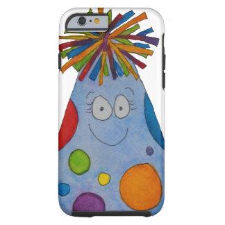 Chapeau lunatique d'anniversaire c'est mon cadeau coque tough iPhone 6