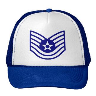 Chapeau luxuriant de TSgt de l'Armée de l'Air Casquettes De Camionneur