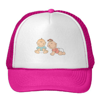 Chapeau mignon de bébé casquette de camionneur