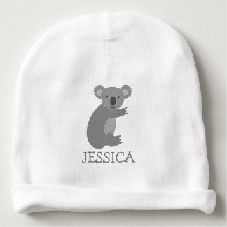 Chapeau mignon de calotte de bébé d'ours de koala bonnet de bébé