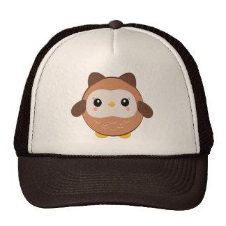 Chapeau mignon de hibou de bébé casquettes de camionneur