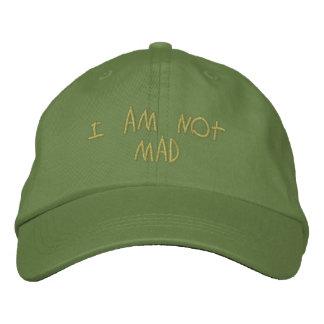 Chapeau non fou casquettes de baseball brodées