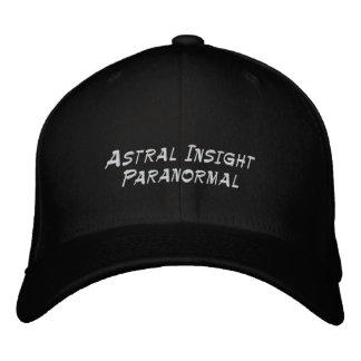 Chapeau paranormal d'analyse astrale casquette brodée