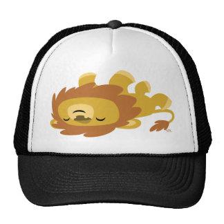 Chapeau paresseux de camionneur de lion de bande d casquette trucker