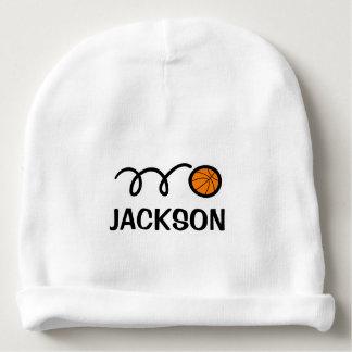 Chapeau personnalisé de bébé avec la conception bonnet de bébé