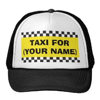 Chapeau personnalisé de taxi de chauffeur casquettes de camionneur