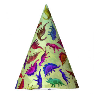 Chapeau préhistorique coloré de partie de